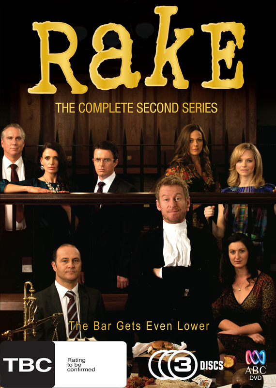 Rake: The Complete Second Series on DVD