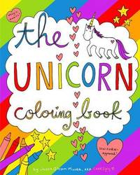 The Unicorn Coloring Book by Jessie Oleson Moore