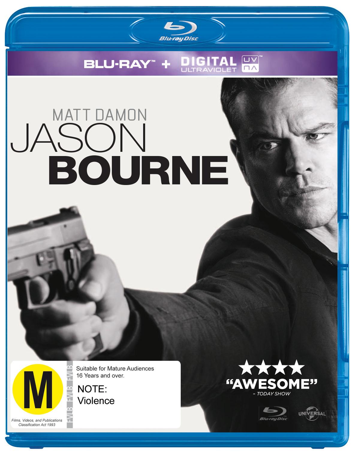 Jason Bourne on Blu-ray image