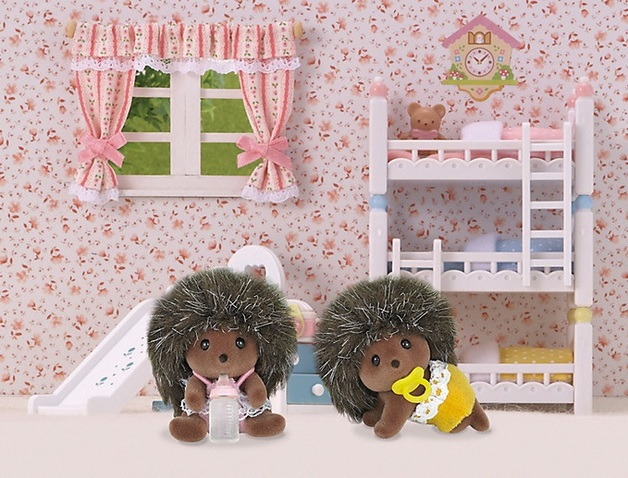 Sylvanian Families: Hedgehog Twins