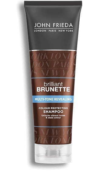 John Frieda Brilliant Brunette Moisturising Shampoo (250ml)