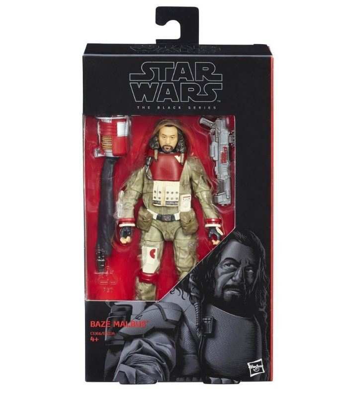 Star Wars: The Black Series - Baze Malbus image