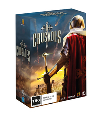 The Crusades Box Set on DVD