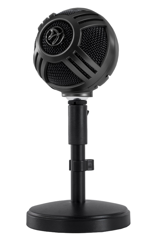 Arozzi Sfera Microphone (Black) for PC
