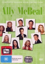 Ally McBeal - Complete Season 4 (6 Disc Slimline Set) on DVD