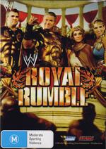 WWE - Royal Rumble 2006 on DVD