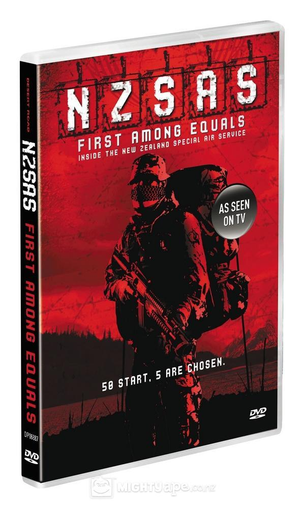 N.Z.S.A.S: First Among Equals on DVD image