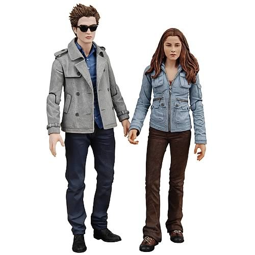 "Twilight 7"" Edward and Bella Action Figure 2-Pack"