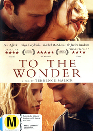 To the Wonder on DVD