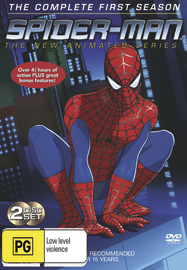 Spider-Man - The Animated Series: Complete Season 1 (2 Disc Set) on DVD image
