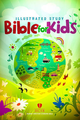 Illustrated Study Bible for Kids-HCSB image