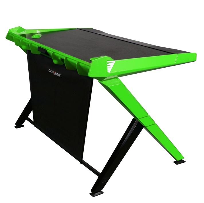 DXRacer Gaming Desk (Black & Green) for  image