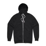 AS Colour Traction Zip Hoodie - Black (Medium)