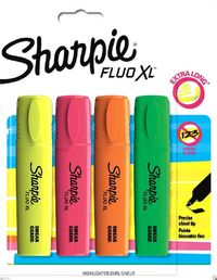 Sharpie: Fluo XL Highlighter 4-Pack - Assorted