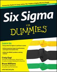 Six Sigma For Dummies by Craig Gygi