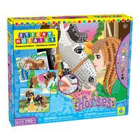 The Orb Factory: Sticky Mosaics - I Love Horses