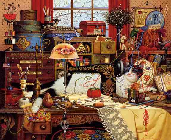 Wysocki: Maggie the Messmaker - 1000 Piece Puzzle image