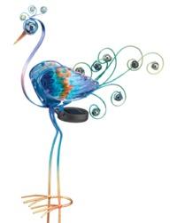 Regal Art & Gift: Solar Peacock Stake - Purple