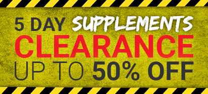 Supplements Clear Out!