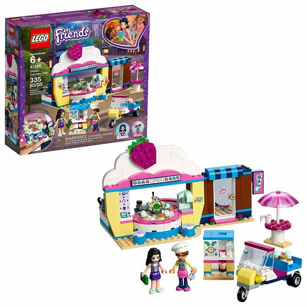 Lego Friends Olivias Cupcake Café Toy At Mighty Ape Nz