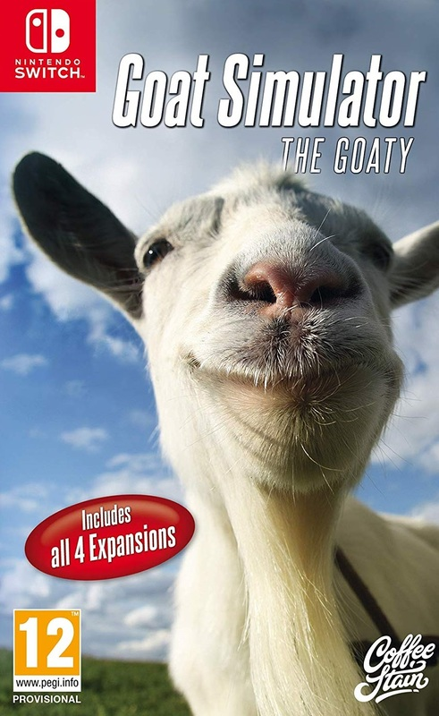 Goat Simulator: The Goaty for Switch