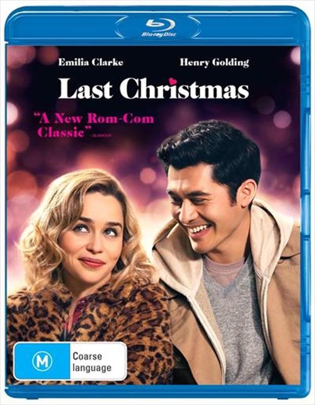 Last Christmas on Blu-ray