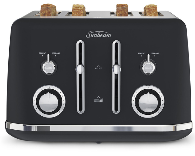 Sunbeam: Alinea Collection 4 Slice Toaster - Dark Canyon