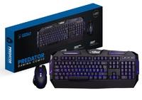 Gorilla Gaming Predator Gaming Combo (Blue) for PC image