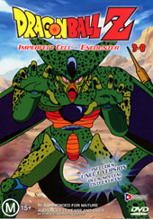 Dragon Ball Z 3.08 - Imperfect Cell - Encounter on DVD
