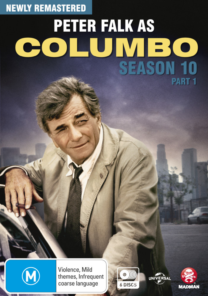 Columbo - Season 10 Part 1 on DVD image