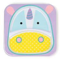 Skip Hop: Zoo Divided Plate - Unicorn