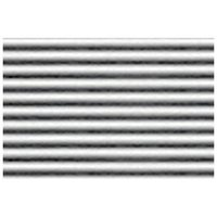 JTT Styrene Pattern Sheets Corrugated Iron (2pk) - 1/32 Scale image