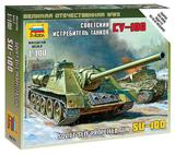 Zvezda 1/100 Soviet SU-100
