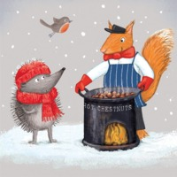 Museums & Galleries: Toasty Yuletide Cards 8 Pack