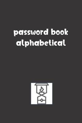 Password Book Alphabetical by Tempus Fugit