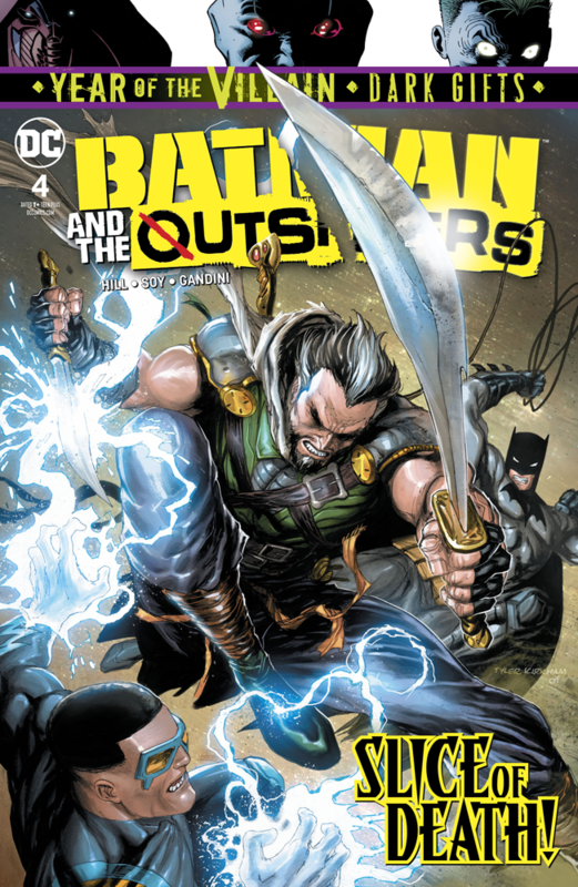 Batman and the Outsiders - #4 (Cover A) by Bryan Hill
