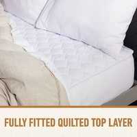 Sunbeam: Sleep Perfect King Bed Quilted Heated Blanket