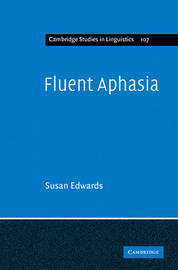 Fluent Aphasia by Susan Edwards image