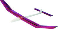 West Wings Free Flight Aircraft Kit - Amethyst (glider)