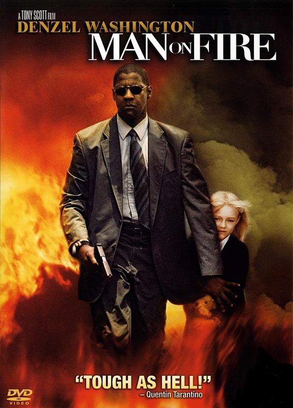 Man on Fire on DVD