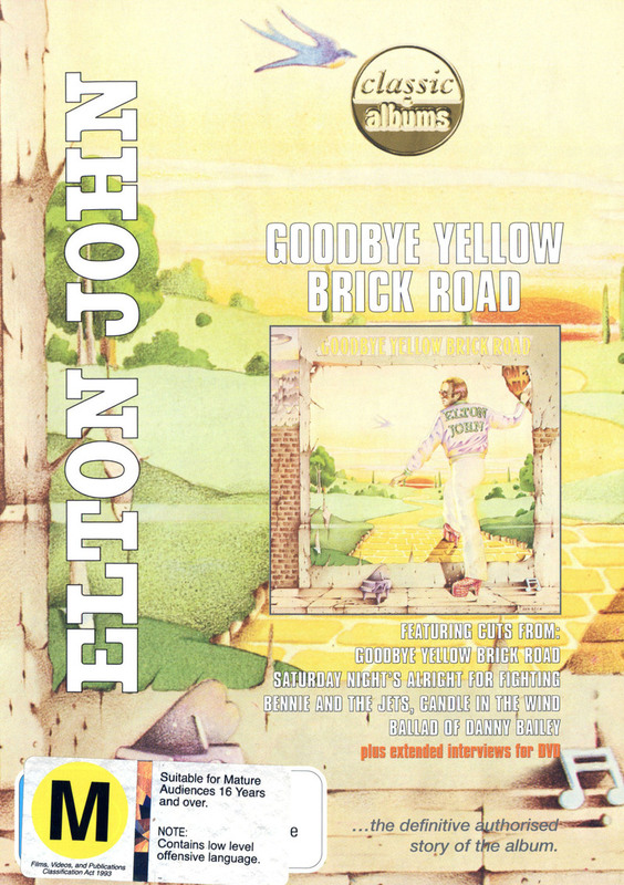 Elton John - Goodbye Yellow Brick Road (Classic Albums) on DVD