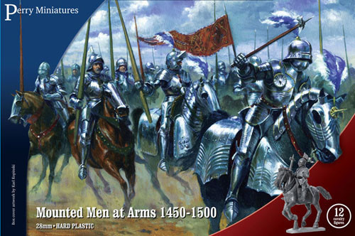 War of the Roses: Mounted Men at Arms (1450-1500)