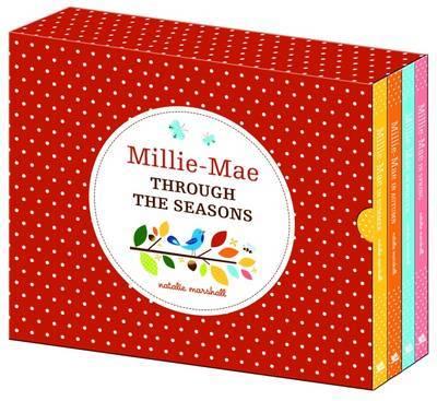Millie Mae Through the Seasons Slipcase Set by Natalie Marshall