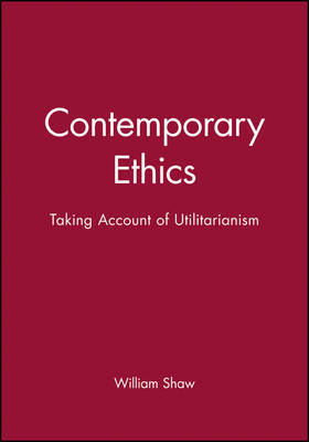 Contemporary Ethics by William H Shaw image