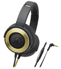 Audio-Technica: ATH-WS550is Solid Bass - Over Ear Headphones (Gold)
