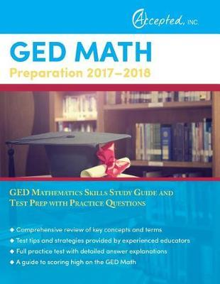 GED Math Preparation 2017-2018 by Ged Exam Prep Team image