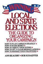 Winning Local and State Elections by Ann E. Beaudry image