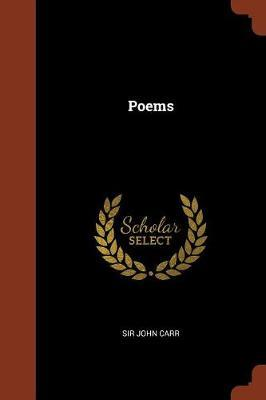 Poems by Sir John Carr image