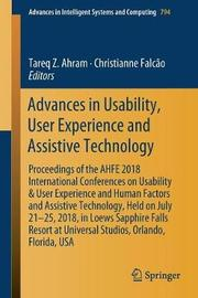 Advances in Usability, User Experience and Assistive Technology image