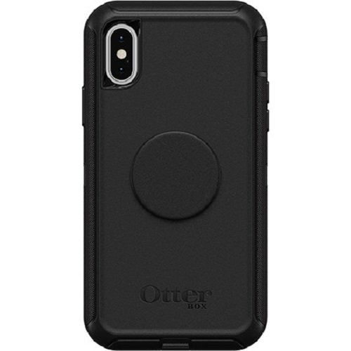 Otter + Pop: Defender for iPhone X/Xs - Black
